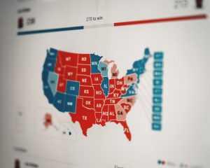Stocks fall ahead of election